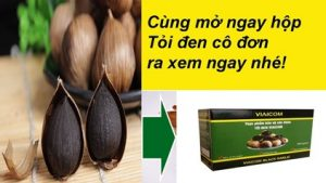 Đập hộp tỏi đen cô đơn ra xem chất lượng và cách sử dụng