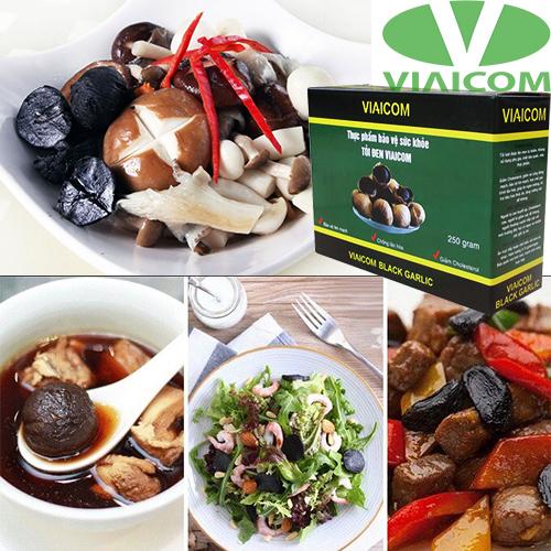 Các món ăn cùng tỏi đen viaicom 250g
