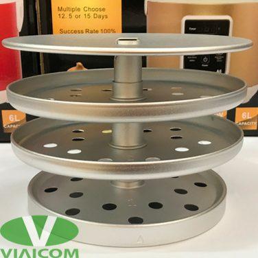 Khay xếp tỏi 3 tầng của máy làm tỏi đen LUVA A6