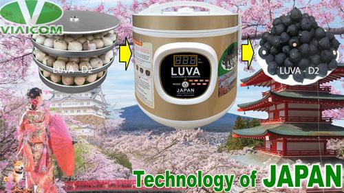 Máy làm tỏi đen LUVA D2 công nghệ Nhật Bản
