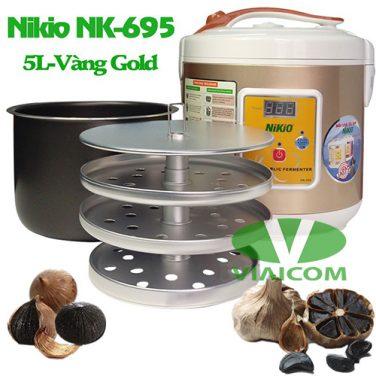 Máy làm tỏi đen Nikio NK-695 - Khay xếp tỏi và ruột nồi