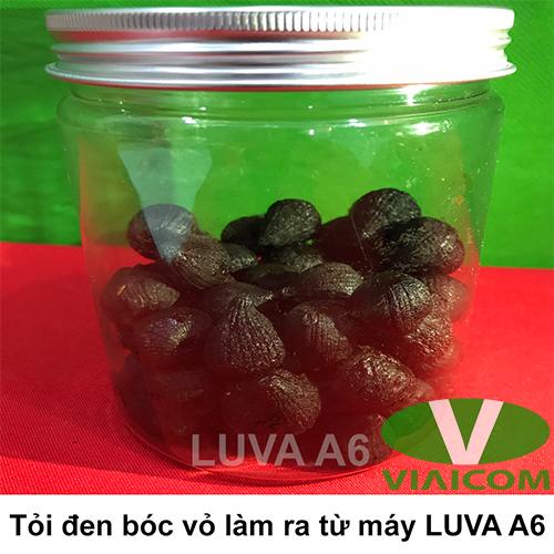 Tỏi đen bóc vỏ làm ra từ máy làm tỏi đen LUVA A6