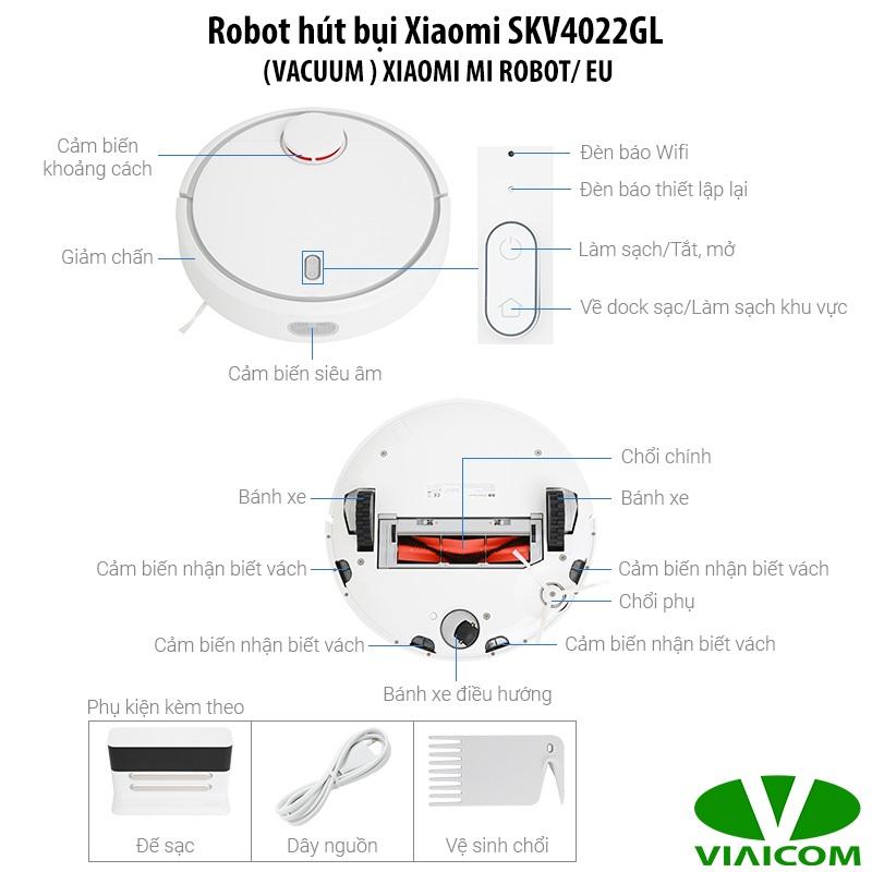 Cấu tạo Robot hút bụi Xiaomi SKV4022GL