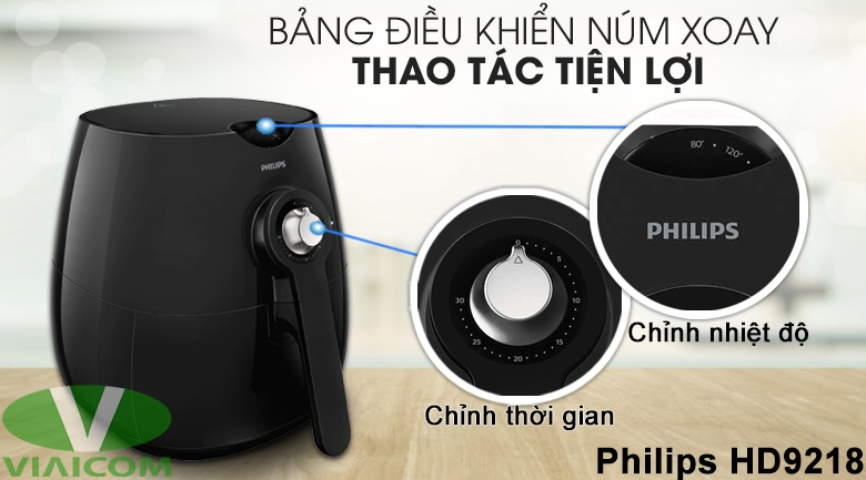 Nồi chiên không dầu Philips HD9218 - Sử dụng rất đơn giản