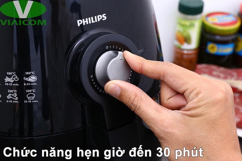 Nồi chiên không dầu Philips HD9220 - Chức năng hẹn giờ 30 phút