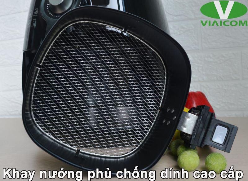 Nồi chiên không dầu Philips HD9220 - Khay nướng phủ chống dính cao cấp
