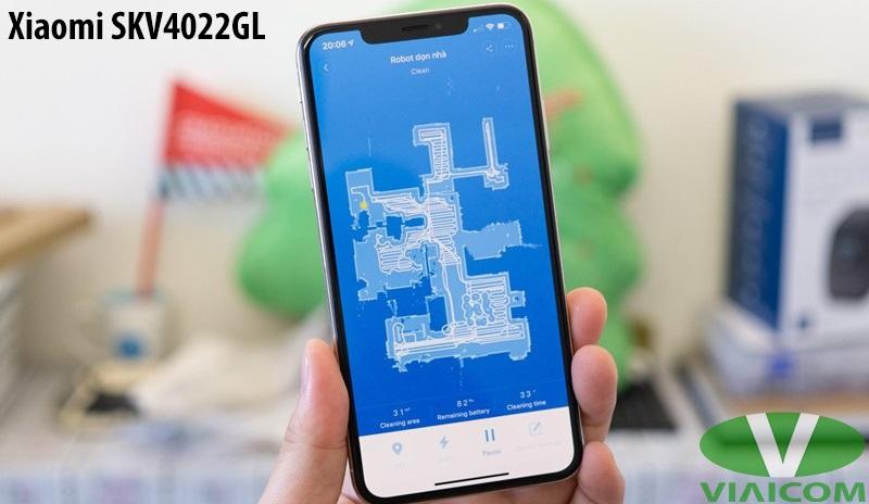 Robot hút bụi Xiaomi SKV4022GL - Điều khiển dễ dàng qua điện thoại