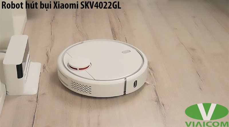 Robot hút bụi Xiaomi SKV4022GL - Tự động quay về sạc pin khi hết pin