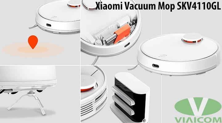 Xiaomi Vacuum Mop SKV4110GL - Nhiều tính năng thông minh