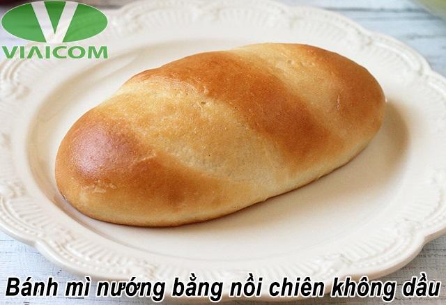 Bánh mì nướng bằng nồi chiên không dầu