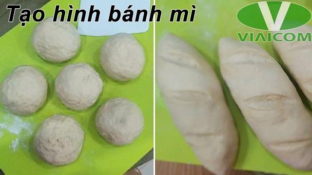 Cách nướng bánh mì bằng nồi chiên không dầu - Tạo hình bánh mì