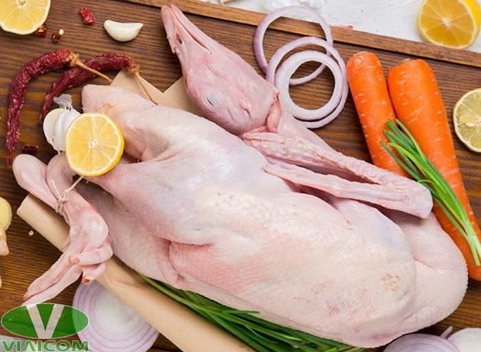 Cách nướng vịt bằng nồi chiên không dầu - Chuẩn bị nguyên liệu