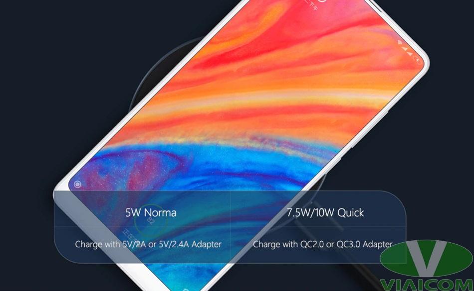 Sạc không dây Xiaomi GDS4098GL - Hỗ trợ cho nhiều thiết bị