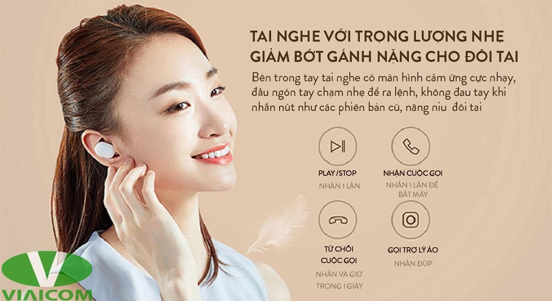 Tai nghe Xiaomi ZBW4480GL - Thiết kế gọn nhẹ