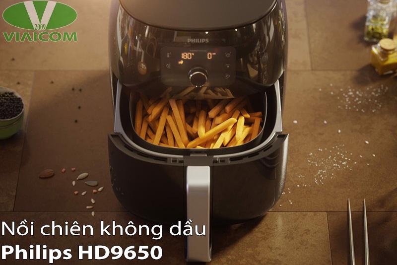 Nồi chiên không dầu Philips HD9650 - Món ăn thơm ngon hơn