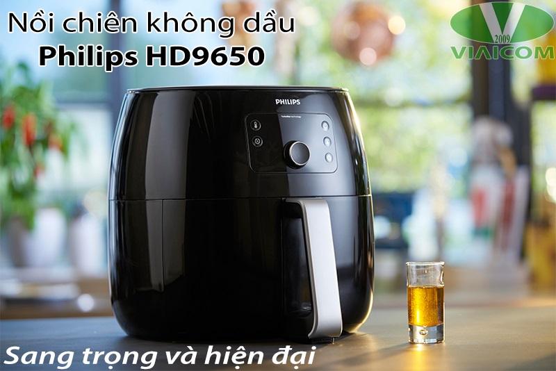 Nồi chiên không dầu Philips HD9650 - Sang trọng và hiện đại