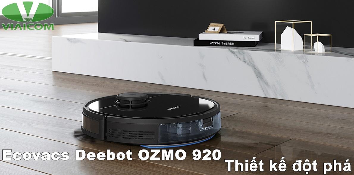 Ecovacs Deebot OZMO 920 - Thiết kế đột phá