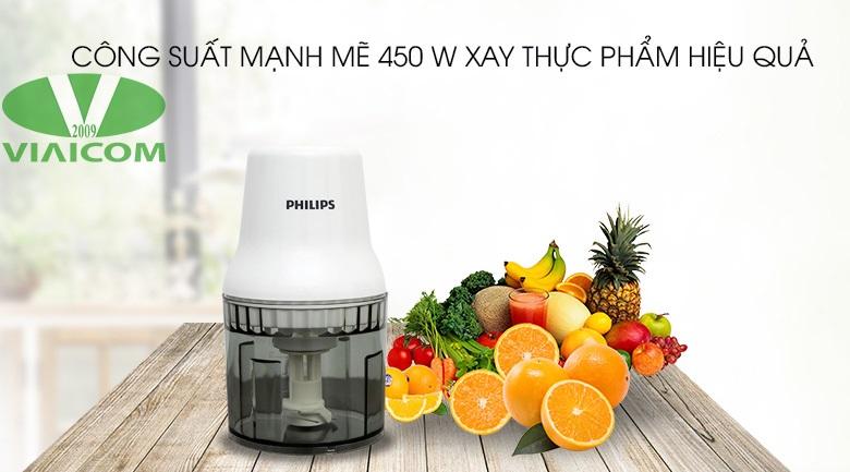 Máy xay thịt Philips HR1393 - Công suất mạnh mẽ