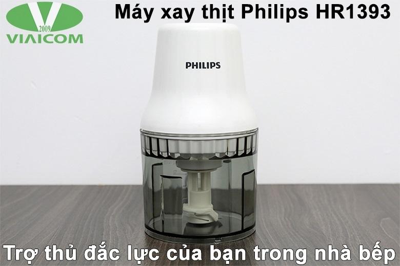 Máy xay thịt Philips HR1393 - Trợ thủ đắc lực trong nhà bếp
