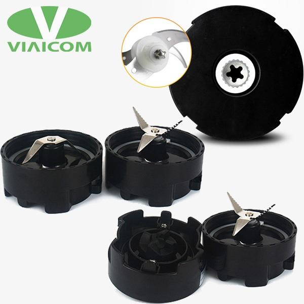 Máy xay đa năng VIAICOM V2A lưỡi dao inox sắc bén - Máy xay đa năng Viaicom V2A (4 trong 1- Cối thủy tinh)