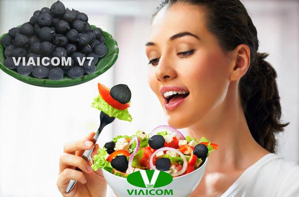 Máy làm tỏi đen Viaicom V7 cho thành phẩm tỏi đen ngon hơn